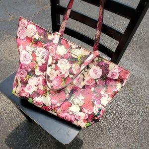 Kate Spade large rose patterned tote